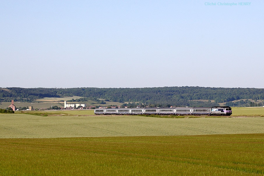 TER Reims - Culmont à Marault