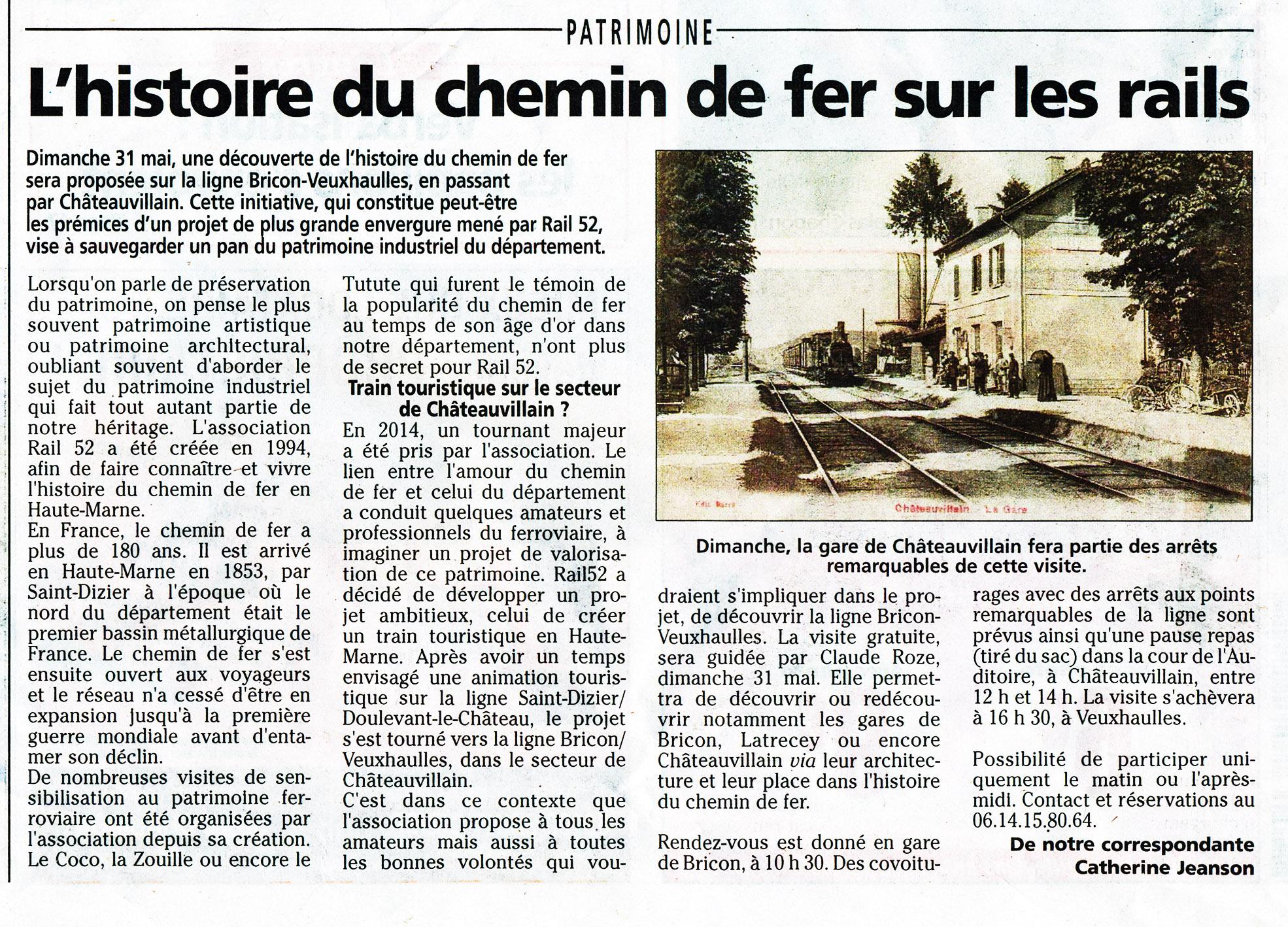 Annonce Visite Bricon - Vheuxhaulles