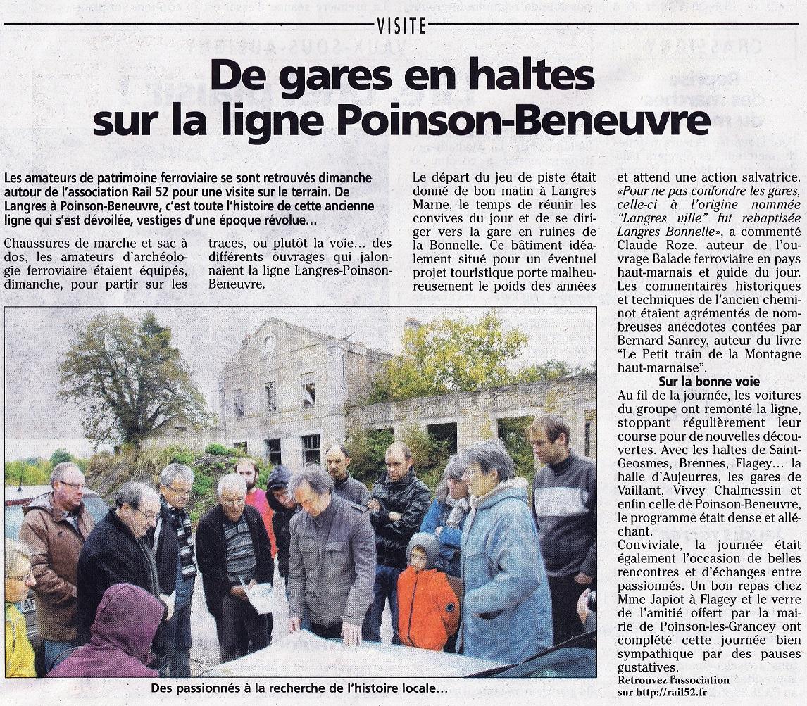 Visite Langres - Poinson