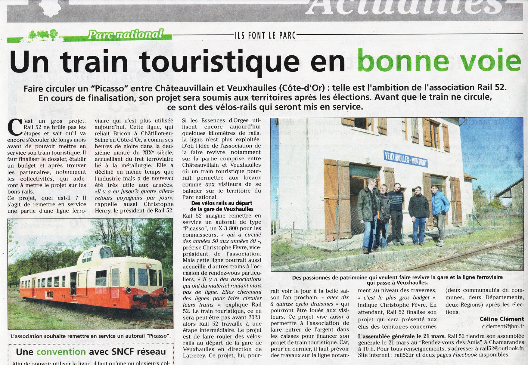Projet Train des Forges 1