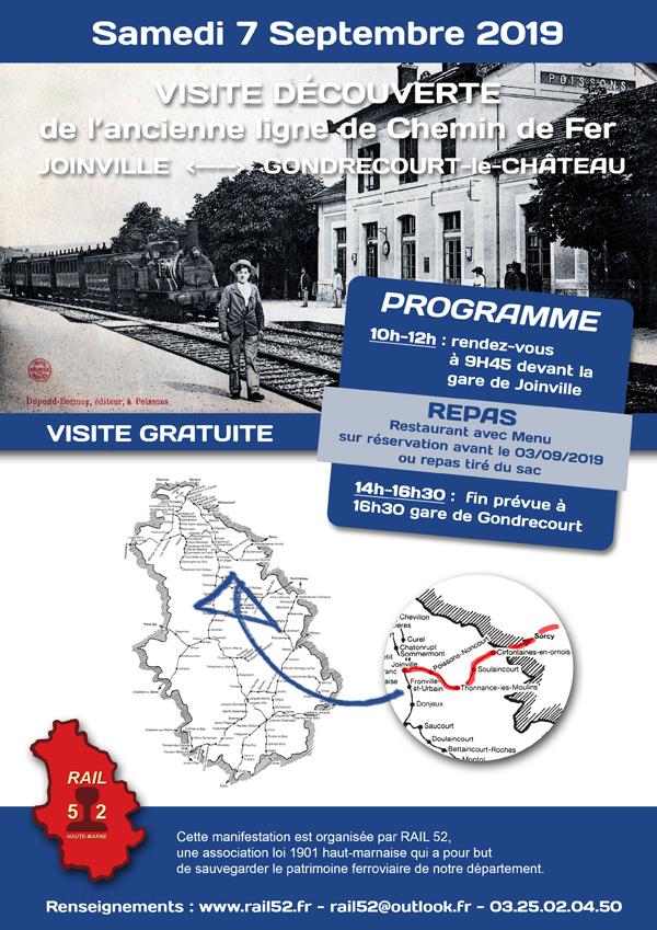 Affiche Joinville - Gondrecourt